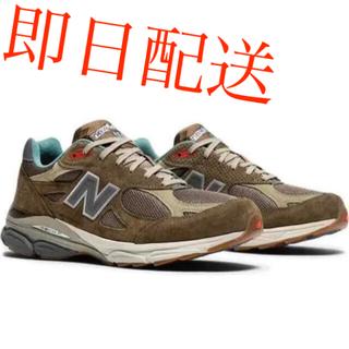 ニューバランス(New Balance)のニューバランス BODEGA × NEW BALANCE 990V3 靴(スニーカー)