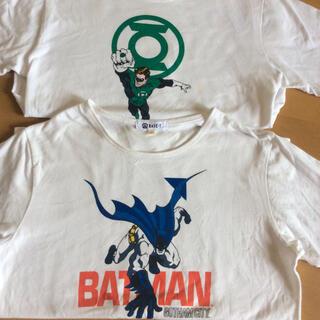 バッドマン、スーパーマンTシャツ2枚セット