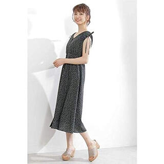 PROPORTION BODY DRESSING - 【PROPORTION】小花柄ロングワンピース