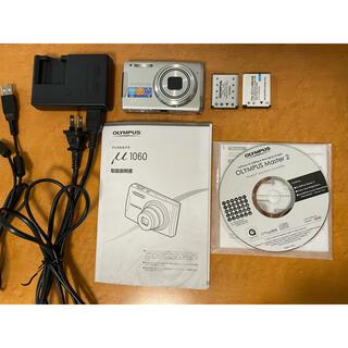 オリンパス(OLYMPUS)のオリンパスデジタルカメラ ミュー1060 三脚付き(コンパクトデジタルカメラ)