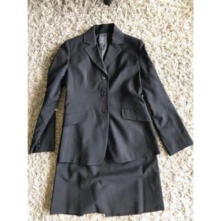 コムサイズム(COMME CA ISM)のコムサ   スーツ フォーマル 就職 ジャケット 7号 S 黒(スーツ)