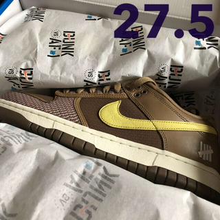 NIKE - NIKE DUNK LOW ×  UNDEFEATED  27.5