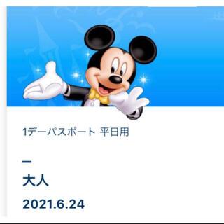 Disney - ディズニー グッズ購入用 チケット