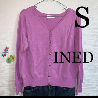 INED - INEDカーディガン    レディースカットソー S