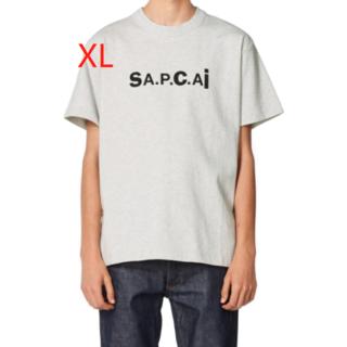 sacai - XL sacai A.P.C. アーペーセー サカイ コラボ T shirt