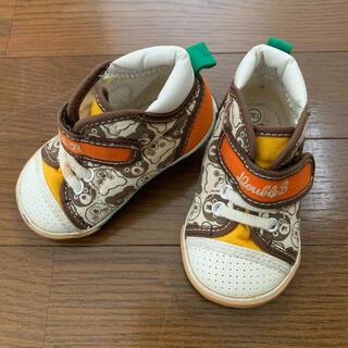 ダブルビー(DOUBLE.B)の靴 スニーカー ミキハウス mikihouse ダブルビー 13 センチ(スニーカー)