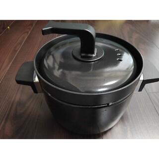 リンナイ(Rinnai)のリンナイ3号炊き 炊飯専用釜RTR-03E(鍋/フライパン)