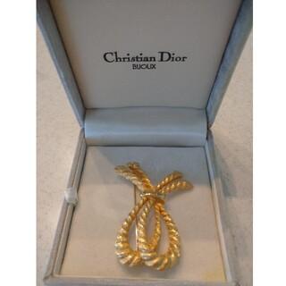 クリスチャンディオール(Christian Dior)のクリスチャン・ディオールブローチ(ブローチ/コサージュ)