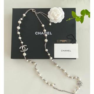 CHANEL - CHANEL 美品 コスチュームジュエリー ロングネックレス