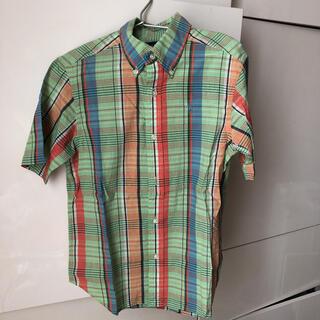 POLO RALPH LAUREN - ラルフローレン  キッズ 半袖 チェックシャツ 130センチ