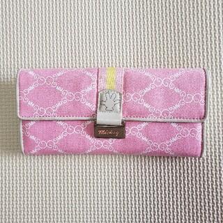 ミッキーマウス(ミッキーマウス)のMickey Mouse 長財布(財布)
