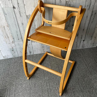 バンビーニ イーチェア E-Chair 木馬 ベビーハイチェア 佐々木敏光(その他)