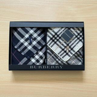 バーバリー(BURBERRY)の新品未使用  バーバリー Burberry  タオルハンカチ・ハンカチセット(ハンカチ/ポケットチーフ)