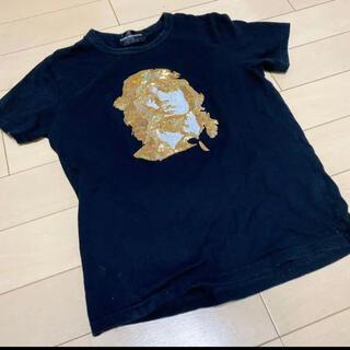 ダルタン Tシャツ Mサイズ ゴールド(Tシャツ/カットソー(半袖/袖なし))
