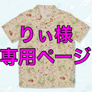 ダッフィー - S アロハシャツ★サニーファン