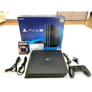 PlayStation4 - PS4 pro本体 CUH-7200BB01 1TB SSD換装 HDD1TB付