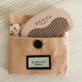 Gucci - グッチGucci ヘアブラシ ノベルティ 非売品 巾着付き