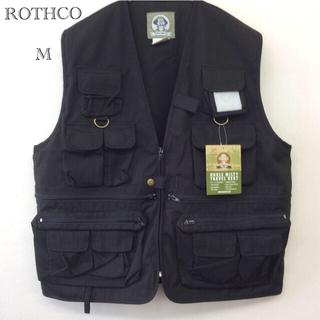 ROTHCO - ROTHCO ミリタリーベスト ブラック M ユニセックス