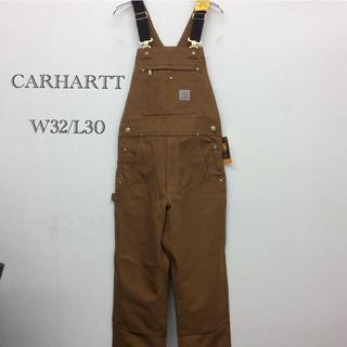 carhartt - オーバーオール W32/L30 カーハートブラウン 新品