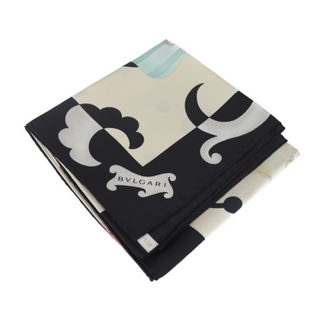 ブルガリ(BVLGARI)のBVLGARI ブルガリ スカーフ 【本物保証】(バンダナ/スカーフ)