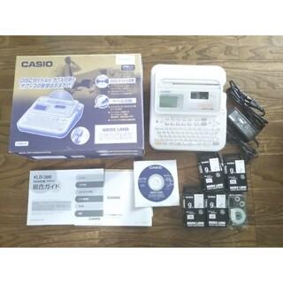 CASIO - カシオ ネームランド CASIO KLD-300 CDラベル印刷 テプラ