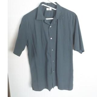 UNIQLO - ユニクロU オープンカラーシャツ Lサイズ