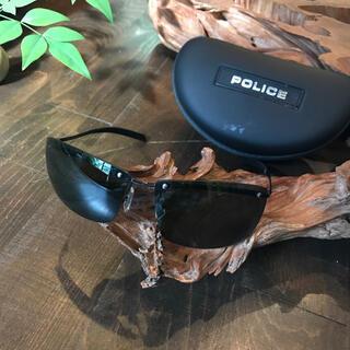 POLICE - police サングラス★ポリス ブラック イタリア製 ストリート モード
