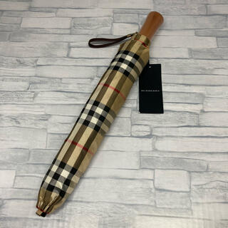 バーバリー(BURBERRY)の新品未使用品 BURBERRY バーバリー 折りたたみ傘 かさ(傘)
