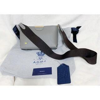 A.D.M.J. - ADMJ 牛革 シュリンクレザー 斜めかけショルダーバッグ