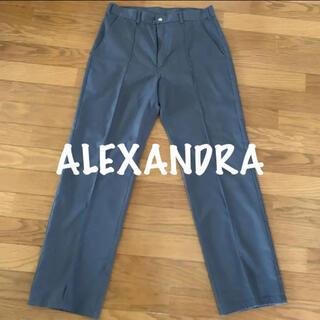 ALEXANDRA アレキサンドラ センタークリース パンツ 灰色 84cm