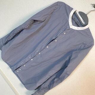 MUJI (無印良品) - ノーカラーシャツ 無印