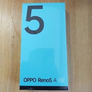 OPPO Reno5A 5G 新品未開封 アイスブルー Ymobile版