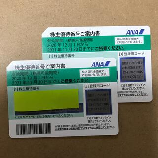 エーエヌエー(ゼンニッポンクウユ)(ANA(全日本空輸))のANA株主優待券  2022年5末迄延長(航空券)