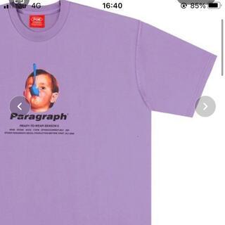 paragraph プリントTシャツ