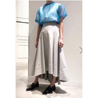 LE CIEL BLEU - le ciel bleu train long skirt タグ付き新品