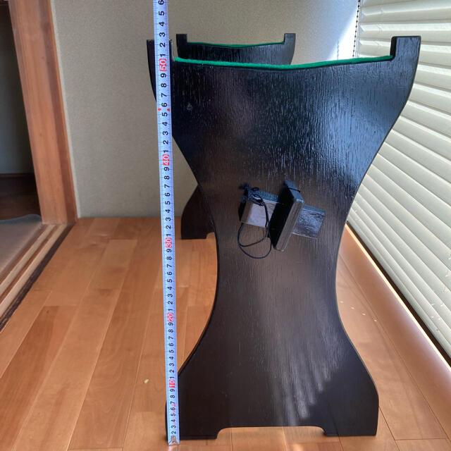 文化箏 スタンド 2台セット 楽器の和楽器(その他)の商品写真