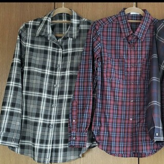 SCOT CLUB - SCOTCLUB 日本製 チェックシャツ 【3枚セット】
