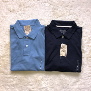 ムジルシリョウヒン(MUJI (無印良品))の新品良品計画 ポロシャツ2点セット❣️(ポロシャツ)