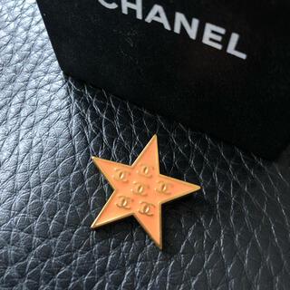 シャネル(CHANEL)のシャネル CHANEL 星ブローチ 美品 スター 美品(ブローチ/コサージュ)