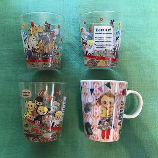 エクート Ecoute! ファニーマグ マグカップ  グラス コップ 食器