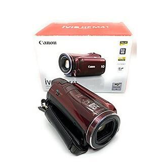 Canon - Canon デジタルビデオカメラ iVIS HF M41 レッド