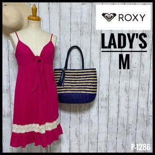 ロキシー(Roxy)の【ロキシー】 ワンピース 膝上丈ワンピース キャミソールワンピース レディースM(ひざ丈ワンピース)