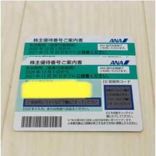 ANA株主優待(2022年5月31日まで)(航空券)