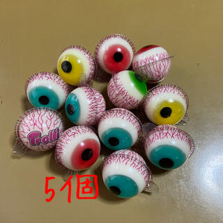 トローリ 目玉グミ 5個(菓子/デザート)