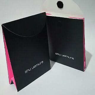 シュウウエムラ(shu uemura)の2点セット シュウウエムラ新品ギフトボックス ショップ袋ショッパー プレゼント用(その他)