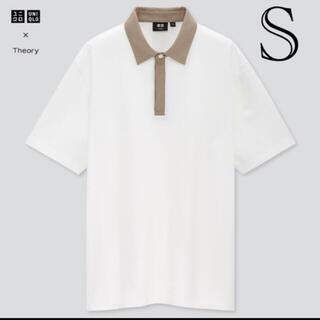 ユニクロ(UNIQLO)の新品未開封UNIQLOユニクロtheoryセオリーSポロシャツ白ホワイト(ポロシャツ)