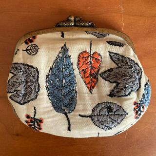 mina perhonen - 【希少】mina perhonen 鳩 がま口 財布 ミナペルホネン