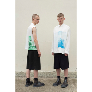 Jil Sander - JIL SANDER|ジルサンダー 半袖Tシャツ プリント 19SS