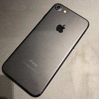iPhone - ジャンク☆ドコモ iPhone7 128GB ブラック