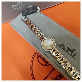 Hermes - エルメス時計 極極極美品 クリッパー ・ レディース